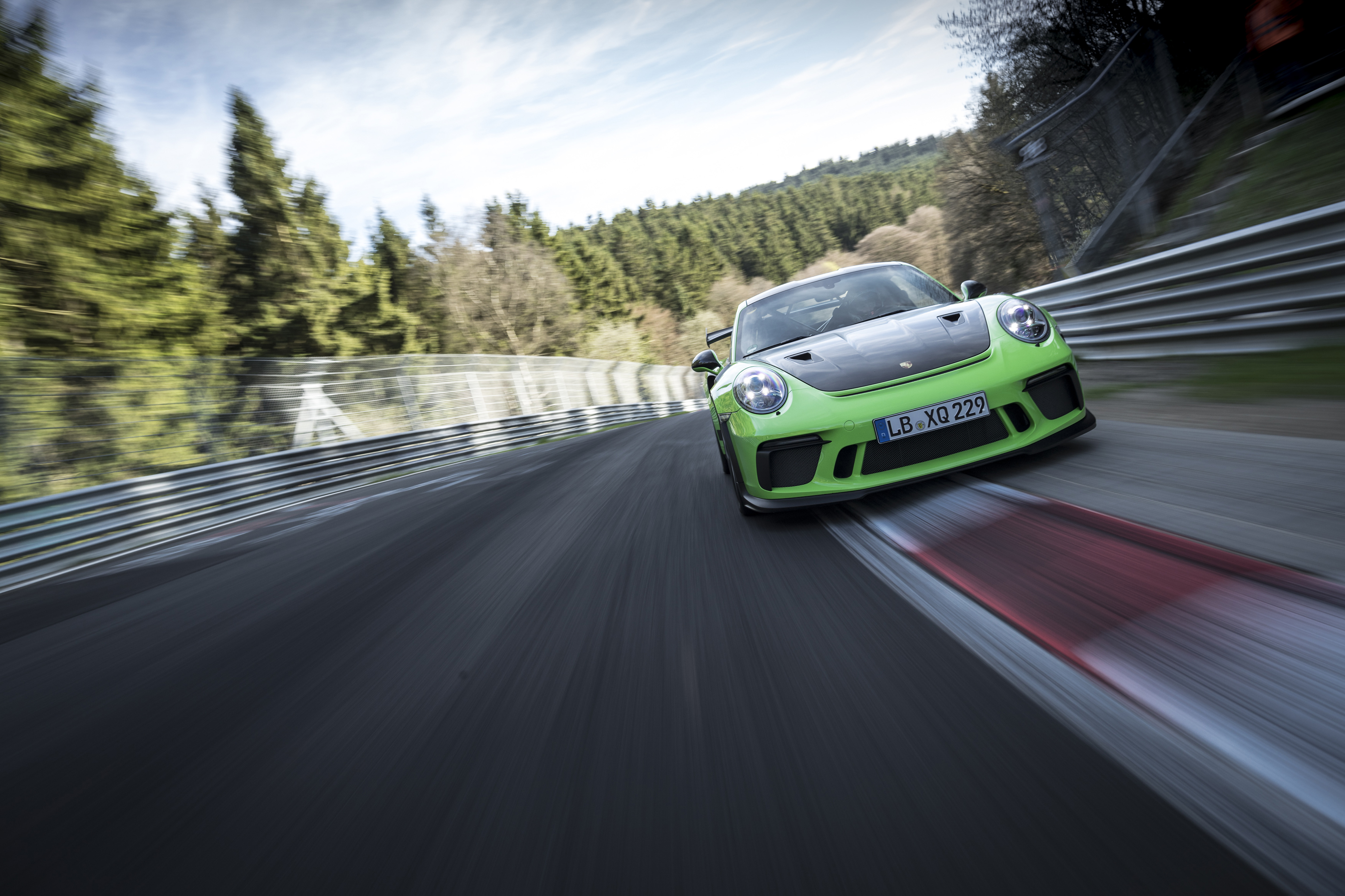 New 911 Gt3 Rs Sets A Lap Time Of 6564 Minutes Through The