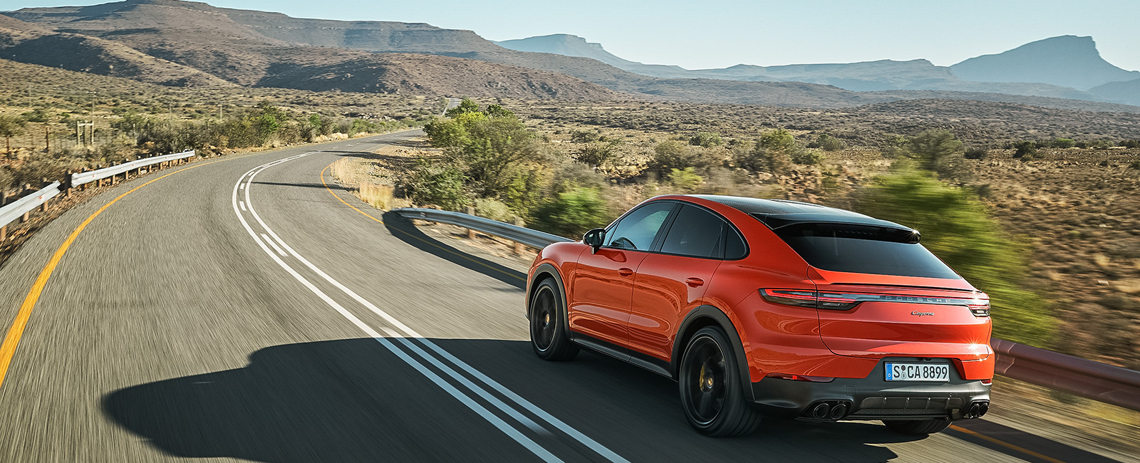Cayenne Coupe Dr Ing H C F Porsche Ag Press Database